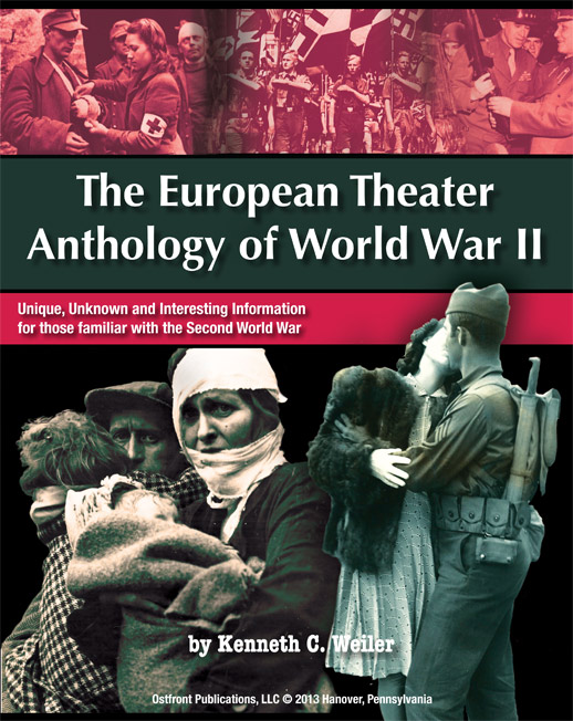 anthology of world war II book