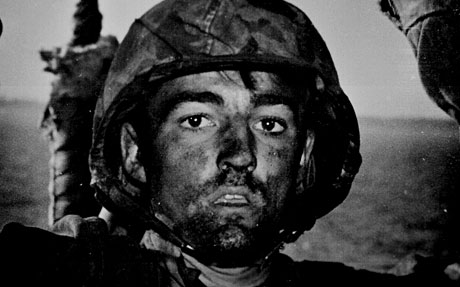 Combat Fatigued Soldier in WWII